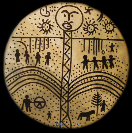 Бубен алтайских шаманов сканворд